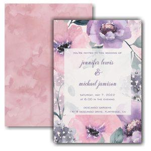 Sweet Blooms Wedding Invitation Icon