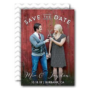 Sweet Embrace Save the Date Card Icon