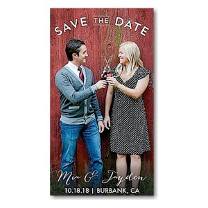 Sweet Embrace Save the Date Magnet Icon