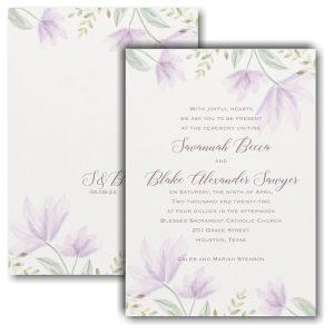 Tender Romance Wedding Invitation Icon