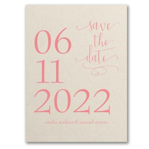 The Big Day Save the Date Card Icon