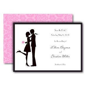 The Kiss Save the Date Card Icon