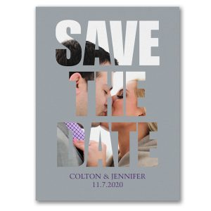 Through Forever Save the Date Card Icon