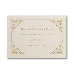 Through the Shimmer Reception Card