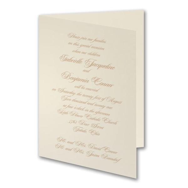 Traditional Grace Wedding Invitation Icon