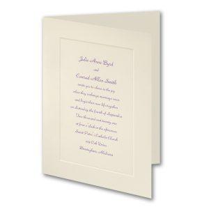 Traditional Panel Grace Wedding Invitation Icon