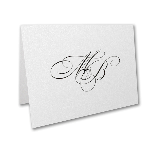 Translucent Shimmer Thank You Note