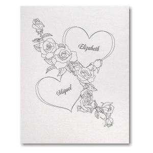 True Romantic Wedding Invitation Icon