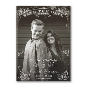 Two Become One Save the Date Card Icon