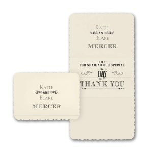 Typography Inspiration Thank You Note