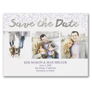 Watercolor Wash Save the Date Card Icon
