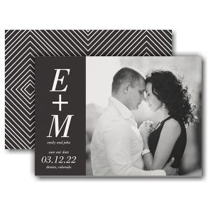 You + Me Save the Date Card