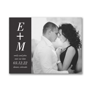 You + Me Save the Date Magnet