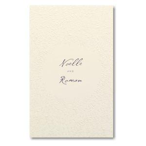 Laced in Love in Ecru Wedding Invitation Icon