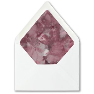 Dyed Ice in Wine Layered Pocket Envelope Liner