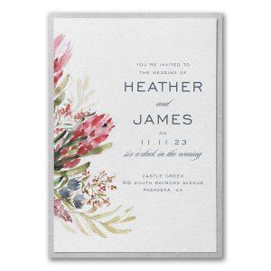 Floral Fondness Layered Wedding Invitation Icon