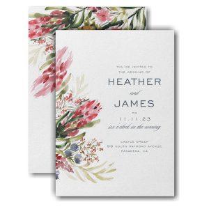 Floral Fondness Wedding Invitation Icon