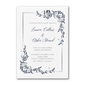 Tender Lovebirds Wedding Invitation Icon