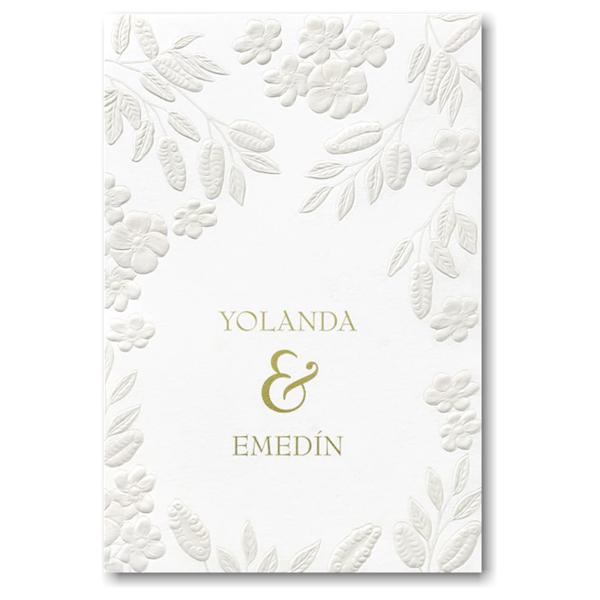 Floral Framework Wedding Invitation Icon