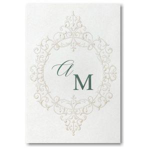 Flourish Framework Wedding Invitation Icon