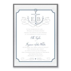 Love Tide Layered Wedding Invitation Icon