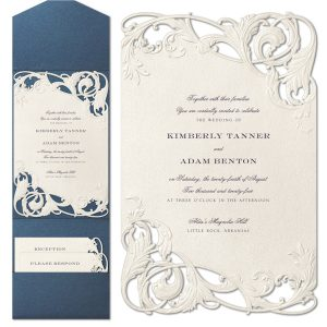 Chichi in Ecru Wedding Invitation Icon