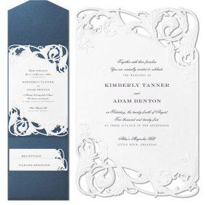 Chichi in White Wedding Invitation Icon