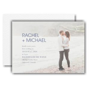 Simple Portrait Wedding Invitation Icon