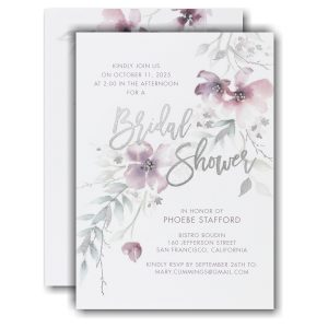 Boho Sophistication Bridal Shower Invitation
