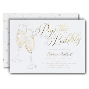 Bridal Cheers Bridal Shower Invitation